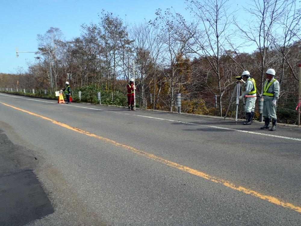 路線横断測量